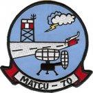 USMC MATCU 70 Marine Air Traffic Control Unit Patch