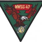 USMC MWSG 47 Marine Wing Support Group Patch
