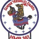 USMC HMR 361 Marine Helicopter Transport Squadron Patch