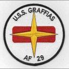 US Navy AF-29 USS Graffias Hyades Class Stores Ship Patch