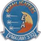 USMC VMA(AW)-332 Marine All-Weather Attack Squadron Patch