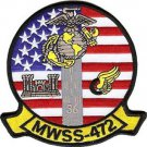 USMC MWSS 472 Marine Wing Service Squadron AGS-Dragons Patch