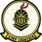 USMC VMF(AW) 314 Marine All-Weather Fighter Squadron Patch