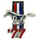 Ford Mustang Logo 1977 Pin