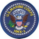 USMC HMX-1 Marine Helicopter Squadron The Knighthawks Patch