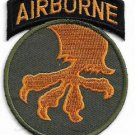 US Army 17th Airborne Division Parachute Infantry Patch