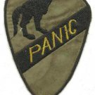 US Army Infantry 1st Cavalry - Panic Military Insignia Vietnam War  OD Patch