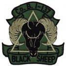 US Army B Company 1st Battalion 137 Aviation Regiment Patch BLACK SHEEP OD