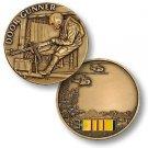 United States Door Gunner Vietnam Engravable Challenge Coin