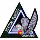 US Army Special Forces Rocky Mountain Chapter Colorado Military Patch