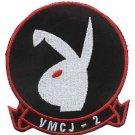 USMC VMCJ 2 Marine Composite Reconnaissance Squadron PLAYBOY Patch