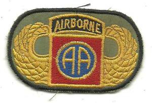 US Army 82nd Airborne Beret Vintage Vietnam Patch