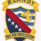 US Navy DD 943 USS Blandy Patch