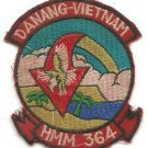 USMC-HMM-364-DaNang-Theater Helicopter Vintage Vietnam Patch