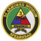 US Army 3rd Armored Division Patch with Sabres