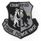 US Army Task Force Troy Counter Improvised Explossive Device Patch OIF OEF