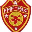 USMC WW2 WWII FMF-PAC Supply HQ Patch