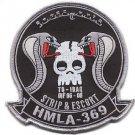 USMC HMLA-369 Iraq Marine Light Attack Helicopter Squadron Gunfighter Patch