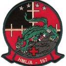 USMC HMLA-167 Marine Light Attack Helicopter Squadron 167 Patch