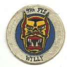 USAF 97th FTS 97th Flying Training Squadron Devil Cats Vintage Patch