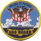 USMC USS Boxer LHD 4 Patch