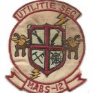 USMC MABS-12 Marine Air Base Squadron 12 Vintage Vietnam Patch