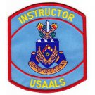 US Army Aviation Logistics School Military Patch INSTRUCTOR USAALS