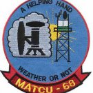 USMC MATCU 68 Marine Air Traffic Control Unit Patch
