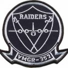 USMC VMGR 352 Marine Aerial Refueler Transport Squadron Raiders Patch