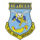 US Navy Naval Air Station Bermuda Patch Seabees