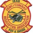 USMC Combat Iraq Helicopter Association Pop A Smoke Patch