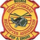 USMC Combat Bosnia Helicopter Association Pop A Smoke Patch
