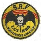 RVN South Vietnamese 1st Special Forces SRF LLT BDB Vietnam War Patch