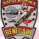 US Army 4th Squadron 3rd Air Cav R Troop Renegade Patch