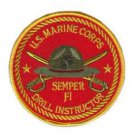 US Marine Corps Drill Instructor Patch