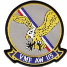USMC VMF(AW)-115 Marine All-Weather Fighter Squadron Able Eagles Patch