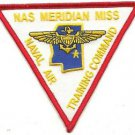 US Navy Nas Meridan Miss Naval Air Pilot Aviation Training Command Patch