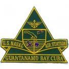 US Navy Naval Air Station Guantanamo Bay Cuba Patch
