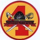 USMC 4th Recruit Training Battalion Patch for FEMALE Marines 4th RTB