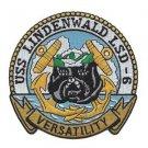 USS Lindenwald LSD-6 Ashland class dock landing ship patch - VERSATILITY