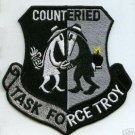 US Army COUNTER IED TASK FORCE TROY OEF OIF EMBROIDERED PATCH