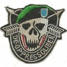 US Army Special Forces de oppresso liber From A Caught Man, A Free Man Patch
