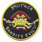 US Army I Troop 3rd Squadron 11Th Armored Cavalry Regiment Patch