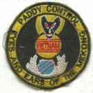 USAF 619th TCS Paddy Control, Eyes and Ears of the Mekong Vietnam War Patch