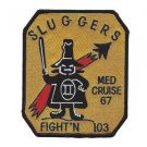 US Navy VF-103 Strike Fighter Squadron Jollys Slugger Rogers Med Cruise 67 Patch
