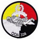 US Army B Co 1st Bn 3rd SFG Operational Detachment Alpha ODA-324 Patch - HALO