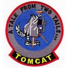 US Navy F-14 TOMCAT A Tale From Two Tairs Patch