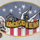US Navy F-14 Tomcats Do It Better Back Patch