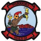 USMC MALS-24 Marine Aviation Logistics Squadron Warriors Patch