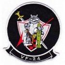 US Navy VF-24 US Navy Aviation Fighter Squadron Patch TOMCAT